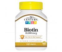 21 Century Biotin 10000 mcg