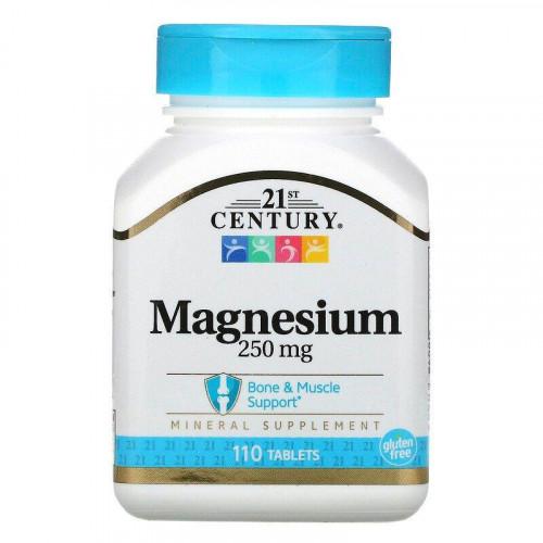 Фото 21th Century Magnesium 110 таблеток