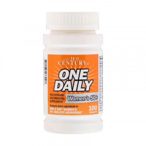 Фото 21st Century One Daily Multivitamin for Women`s 50+