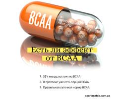 Эффект от BCAA
