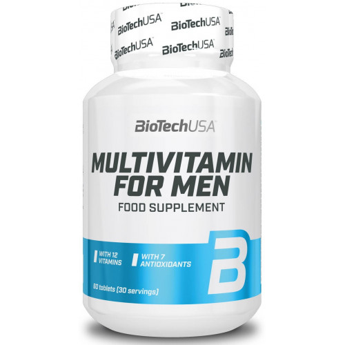 Фото BioTech USA Multivitamin for Men, мужские витамины