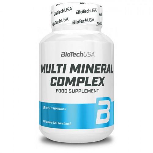 Фото BioTech Multi Mineral Complex 100 таблеток, мультиминеральный комплекс