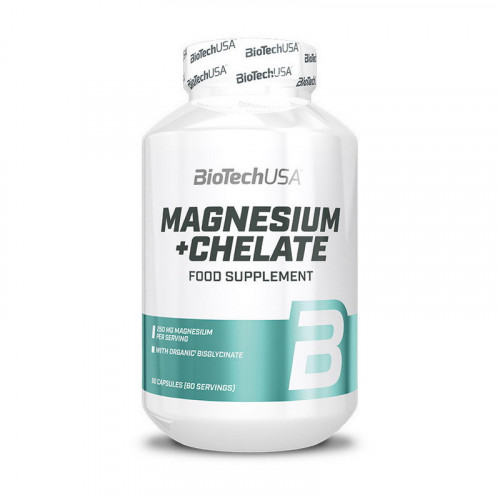 Фото BioTech USA Magnesium + Chelate 60 капсул