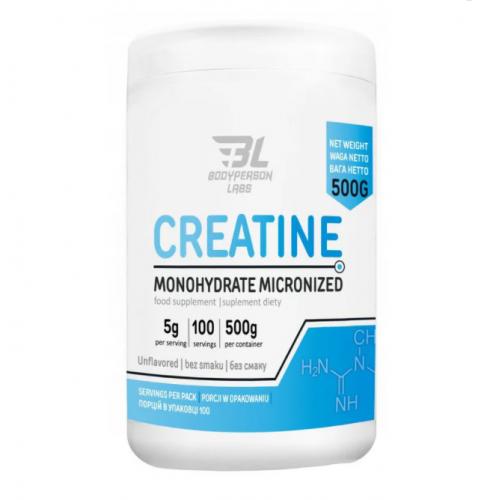 Фото Bodyperson Labs Creatine Monohydrate Micronized 500 грамм