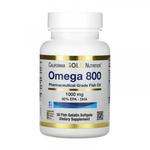Фото California Gold Nutrition Omega 800