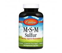 Carlson Labs MSM Sulfur 1000 mg