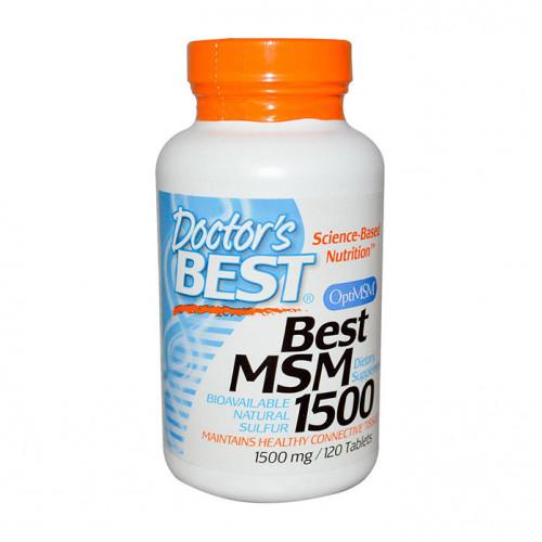 Фото Doctors Best MSM 1500 120 таблеток