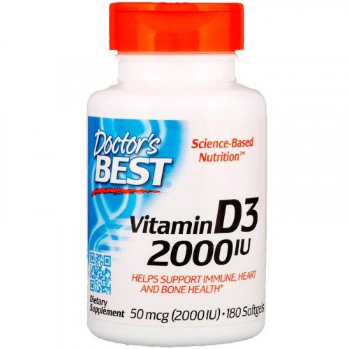 Фото Doctor's BEST Vitamin D3 2000 IU