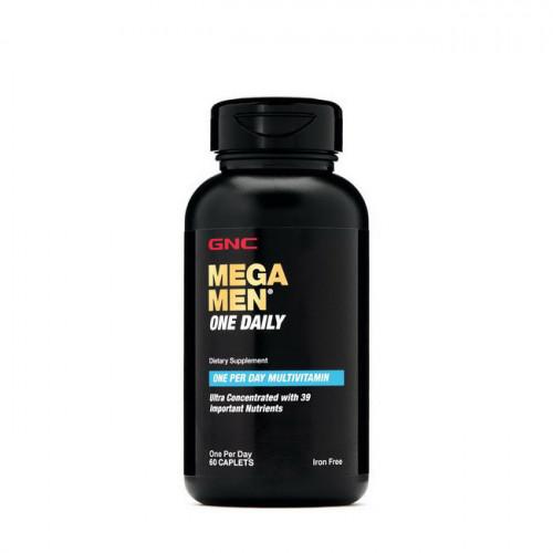 Фото GNC Mega Men One Daily 60 таблеток