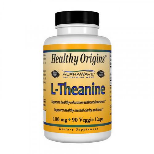 Фото Healthy Origins L-Theanine 100 mg 90 капсул