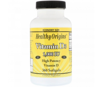 Healthy Origins Vitamin D3 1000 МЕ