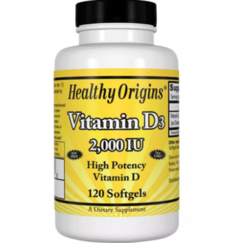 Фото Healthy Origins Vitamin D3 2000 IU