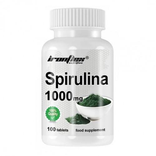 Фото Ironflex Spirulina 100 таблеток