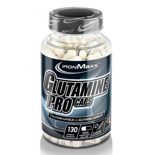 Фото Ironmaxx Glutamine Pro 130 капсул