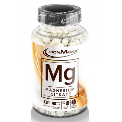 Фото IronMaxx MG Magnesium Citrate 130 капсул