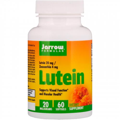 Фото Jarrow Formulas Lutein 20 mg