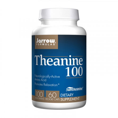 Фото Jarrow Formulas L-Theanine 100 mg 60 капсул