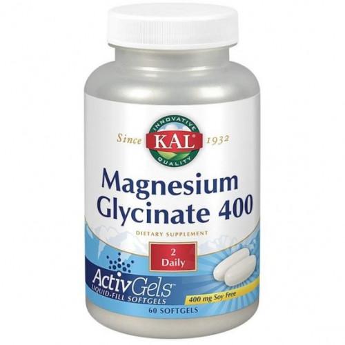 Фото KAL Magnesium Glycinate 400