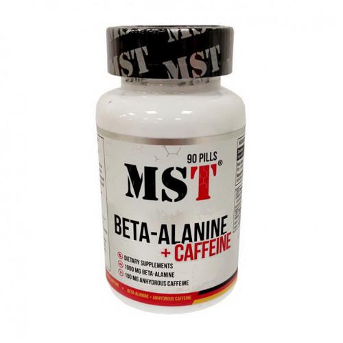 Фото MST Beta-Alanine + caffeine 90 капсул