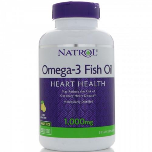 Фото Natrol Omega 3 Fish Oil