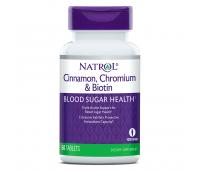 Natrol Cinnamon Chromium & Biotin