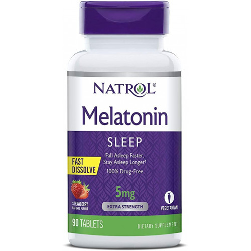 Фото Natrol Melatonin 5 mg