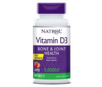 Natrol Vitamin D3 5000 IU