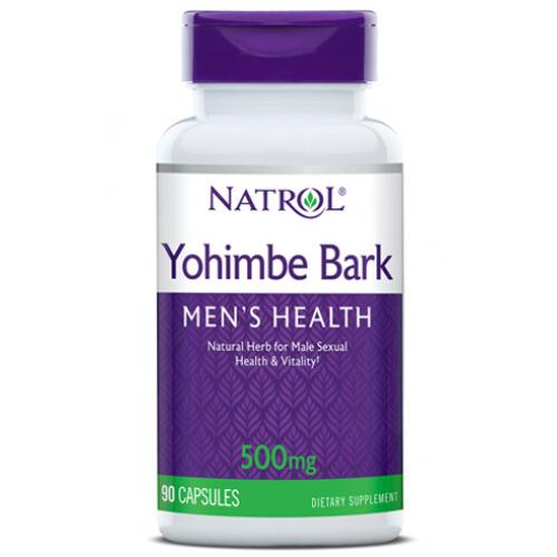 Фото Natrol Yohimbe Bark 500 mg 90 капсул