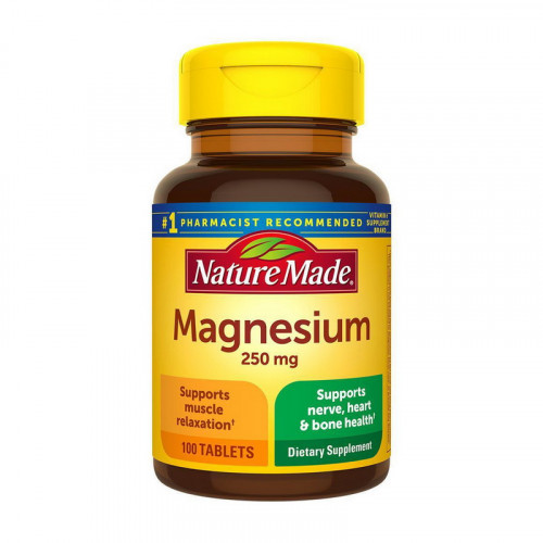 Фото Nature Made Magnesium 250 mg 100 таблеток