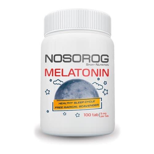 Фото Nosorog Melatonin 100 таблеток