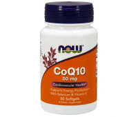 Now CoQ10 50 mg