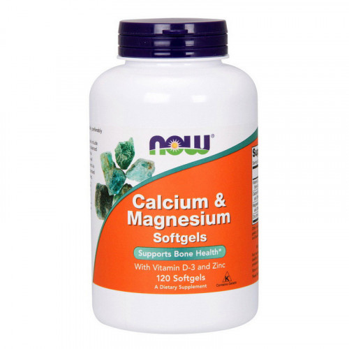 Фото NOW Calcium & Magnesium with vit. D and Zinc