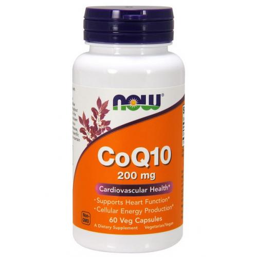 Фото NOW CoQ10 200 мг 60 веган капсул