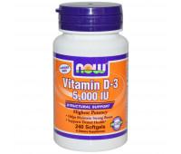 NOW Vitamin D3 5000 ME