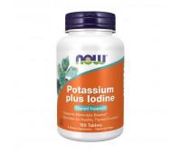 NOW Potassium plus Iodine