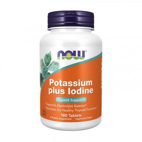 Фото NOW Potassium plus Iodine