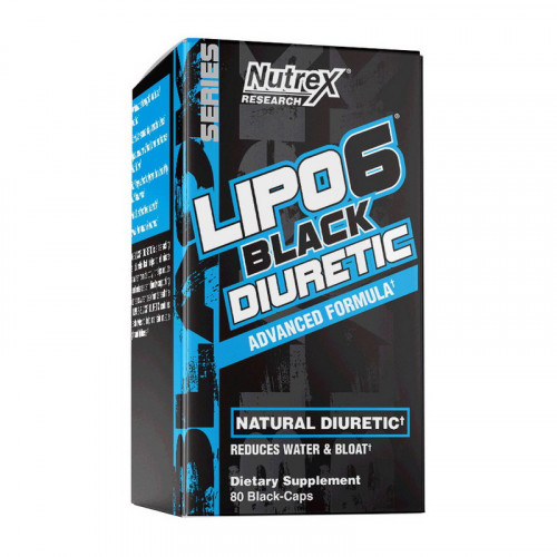 Фото Nutrex Lipo 6 Black Diuretic 80 капсул