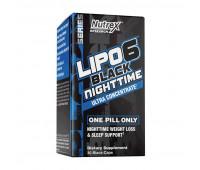 Nutrex Lipo 6 Black NightTime UC