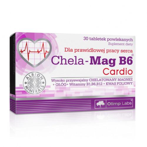 Фото Olimp Chela-Mag B6 Cardio 30 таблеток