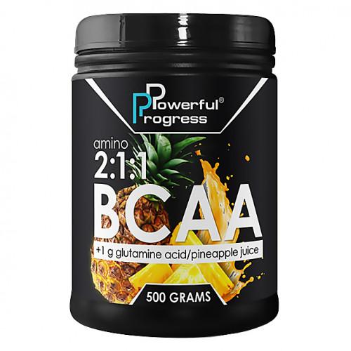 Фото Powerful Progress BCAA, аминокислоты bcaa