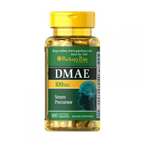 Фото Puritan's Pride DMAE 100 mg 100 капсул