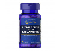 Puritans Pride L-Theanine Melatonin