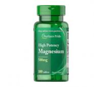 Puritans Pride Magnesium 500 mg