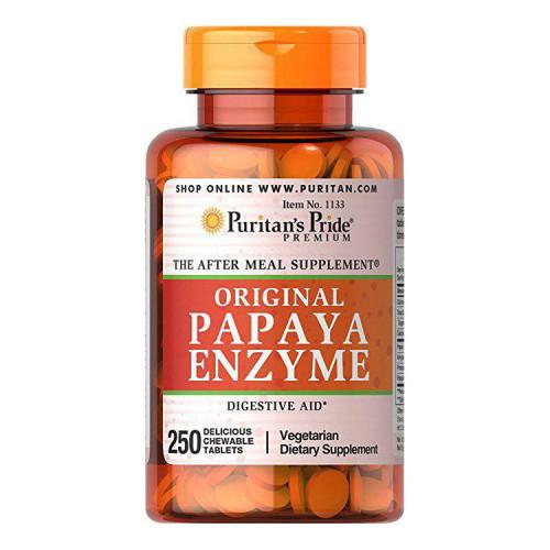 Фото Puritan's Pride Papaya Enzyme original