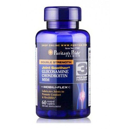 Фото Puritan's Pride Double Strength Glucosamine Chondroitin MSM