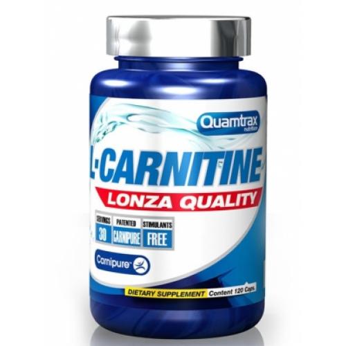 Фото Quamtrax L-Carnitine Lonza Quality 120 капсул