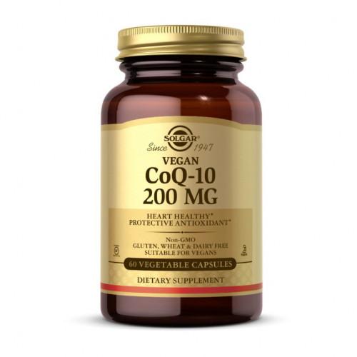 Фото Solgar CoQ-10 200 mg 60 веган капсул