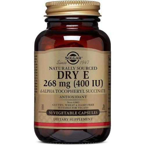 Фото Solgar Vitamin Dry E 268 мг (400 IU)