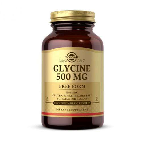 Фото Solgar Glycine 500 mg