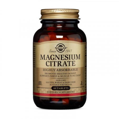 Фото Solgar Magnesium Citrate 60 таблеток